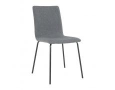 Jídelní židle, tmavě šedá / černá, RENITA