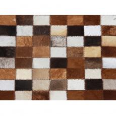 Luxusní koberec, pravá kůže, 120x184, KŮŽE TYP 3