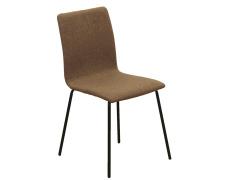 Jídelní židle, hnědá / černá, RENITA