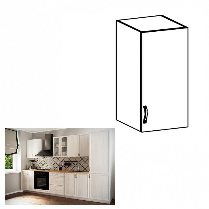 Horní skříňka G40, pravá, bíla/sosna Andersen, SICILIA