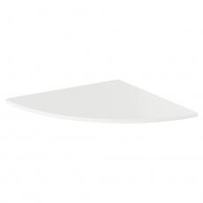 Roh k PC stolu, bílá, RIOMA TYP 13