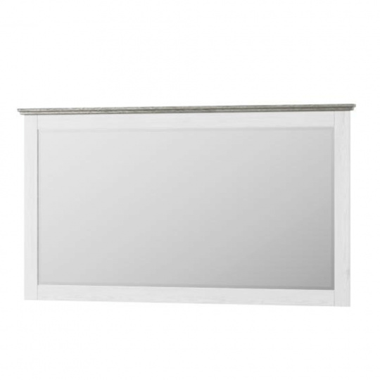 Zrcadlo, bílá, LIONA  LM 28