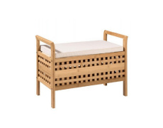 Lavice, bambus přírodní / béžová, TOLOSA