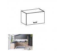 Horní skříňka, dub artisan/šedý mat, LANGEN N60
