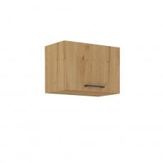 Horní skříňka, černý mat / dub artisan, Monro 50 GU-36 1F