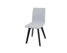 Židle, světle šedá / černá, LODEMA