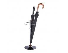 Stojan na deštník, kov/sklo, OLDO