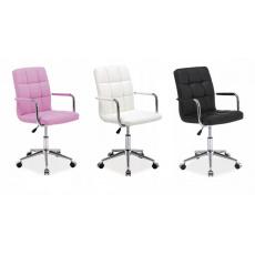 Kancelářská židle Q022 růžová