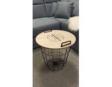 NANDO - příruční stolek s odnímatelným víkem