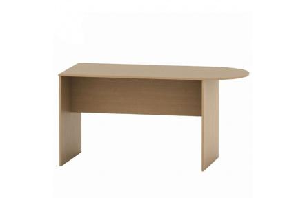 Zasedací stůl s obloukem 150, buk, TEMPO ASISTENT NEW 022