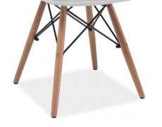Jídelní židle AXEL PU bílá