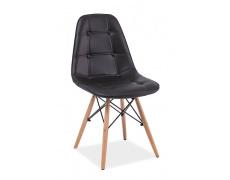 Jídelní židle AXEL PU černá