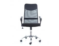 Kancelářská židle Q025 černo-červená PREZIDENT II