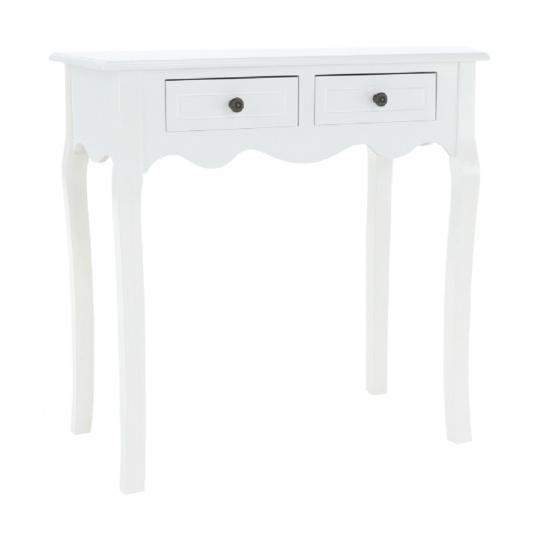 Toaletní stolek / toaletka, bílá, WAGNER 2