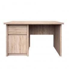 PC stůl 1D1S / 120, dub sonoma, NORTY TYP 12