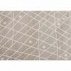 Koberec, béžovobílá / vzor, 67x120, TYRON