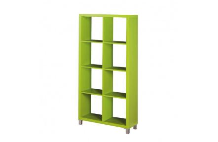 Regál, zelená, TOFI 3 NEW