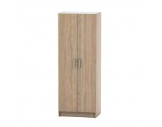 2-dveřová skříň, věšáková, dub sonoma, BETTY 7 BE07-009-00