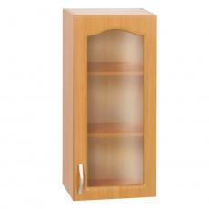 Kuchyňská skříňka horní, olše, pravá, LORA MDF NEW KLASIK W40S