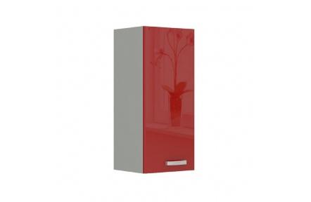 Skříňka horní, červený vysoký lesk, PRADO 30 G-72