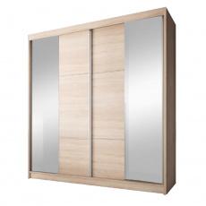 Skříň s posuvnými dveřmi, dub sonoma, 233x218, MULTI 36
