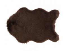 EBONY kožešina 90 x 60cm hnědá