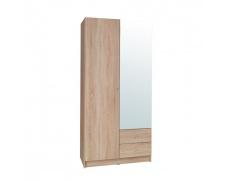 2-dveřová skříň, dub sonoma, MEXIM