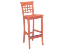 Židle Barowe 2 Dřevo