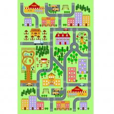 Koberec, vícebarevný, 130x200, EBEL