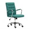 Kancelářské křeslo, azurová zelená, MORGEN