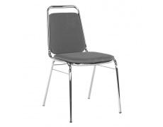 Zasedací židle, šedá síťovina, ZEKI