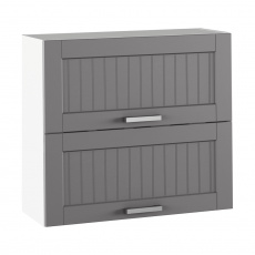 Horní skříňka, tmavě šedá/bílá, JULIA TYP 12