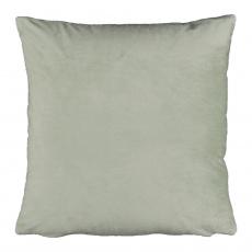 Polštář, sametová látka světlezelená, 60x60, Olaja TYP 14
