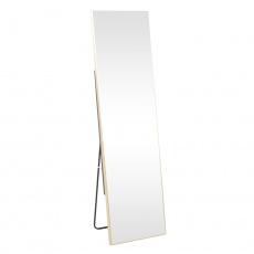 Stojanové zrcadlo, zlatá, LUSET