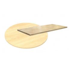 Deska ovál 90x160 cm (28mm)