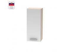 Horní skříňka, dub sonoma/ bílá, NOVA PLUS NOPL-002-OH