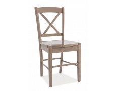 Jídelní židle CD 56 celodřevěná barva lanýž