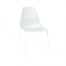 Židle, bílá, LITIA
