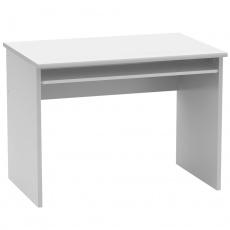 Psací stůl, bílá, JOHAN 2 NEW 02