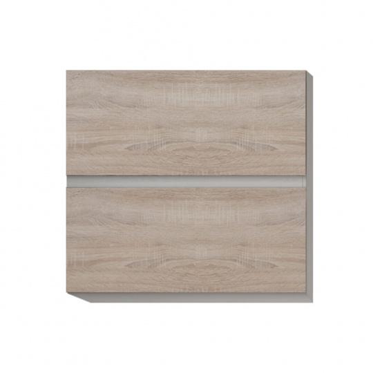 Horní skříňka G 60 U, dub sonoma/bílá, LINE