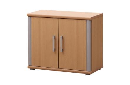 Spodní skříňka, buk, stříbrná, LISSI TYP 04