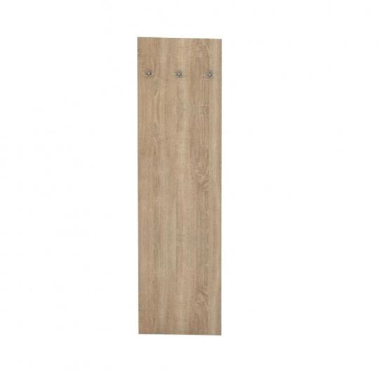 Věšákový panel, dub sonoma, TEMPO ASISTENT NEW 030