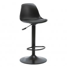 Barová židle, černá, DOBBY