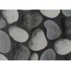 Koberec, hnědá/šedá/vzor kameny, 100x150, MENGA