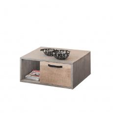 Konferenční stolek Baria, dub pískový, šedá, BARIA 1S