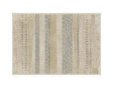 Koberec, béžová / vzor, 140x200, AVALON