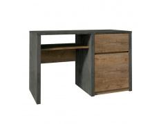 PC stolek, dub lefkas tmavý/smooth šedý, MONTANA B1