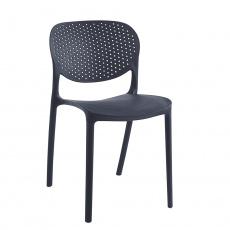 Židle, černá, FEDRA NEW