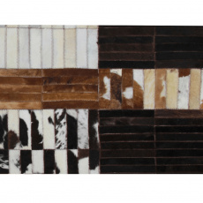 Luxusní koberec, pravá kůže, 69x140 cm, KŮŽE TYP 4