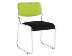 Zasedací židle, zelená/černá síťovina, BULUT